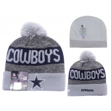 NFL DALLAS COWBOYS NEW ERA GRAY BEANIES KNIT HATS